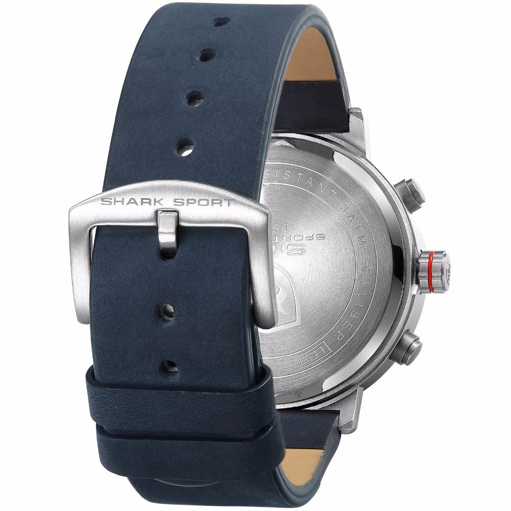 HTB1iBpVdnvI8KJjSspjq6AgjXXa2 - Bluegray Carpet Shark Sport Watch - Blue SH547