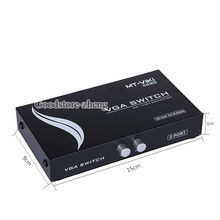 VGA Switcher Into 1 Out of 2 Binary A Converter LCD Monitor PC Video Sharing(China)