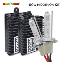 Buy 100W xenon H7 H1 H3 H4 H8 H9 H10 H11 9005 9006 hid xenon kit high power electronic ballast xenon lamp bulb 4300k 5000k 6000k for $50.92 in AliExpress store