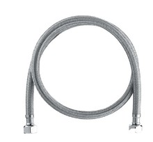 60cm Stainless Steel Braided Hose for Toilet/Faucet/Heater Plumbing Hose Bathroom Accessoriess Free Shipping(China)