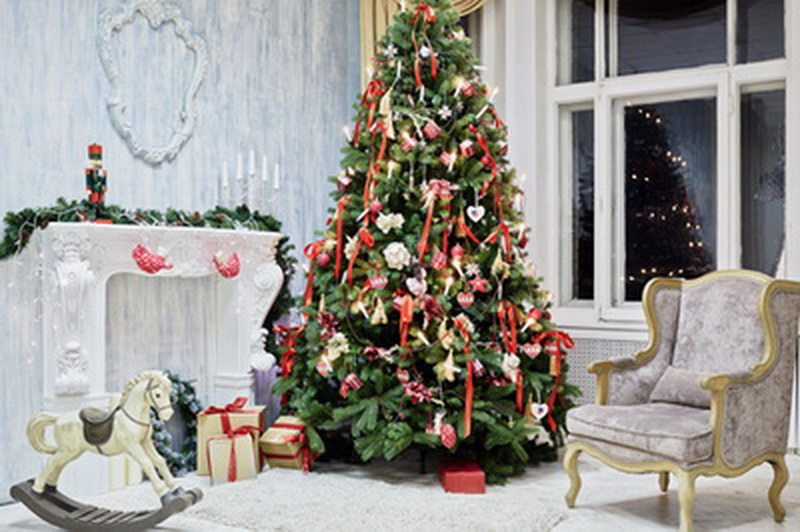 6x10ft (2x3m customizable) Christmas Photography Backdrops  Art Fabric newborn&amp;pet Gift Photography Background D-8916<br>
