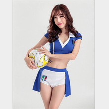 Europe Cheerleader Costumes Cosplay For Women Sex Countries' Cheerleaders Costumes Cosplay Different Style And Size For Choose