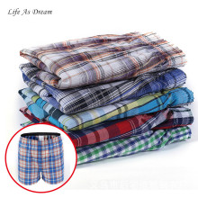 4pcs/Lot High Quality Sexy Mens Underwear Boxers Cotton Calzoncillos Hombre Cueca Boxer Men Boxer Shorts Male Trunks 2017 Brand