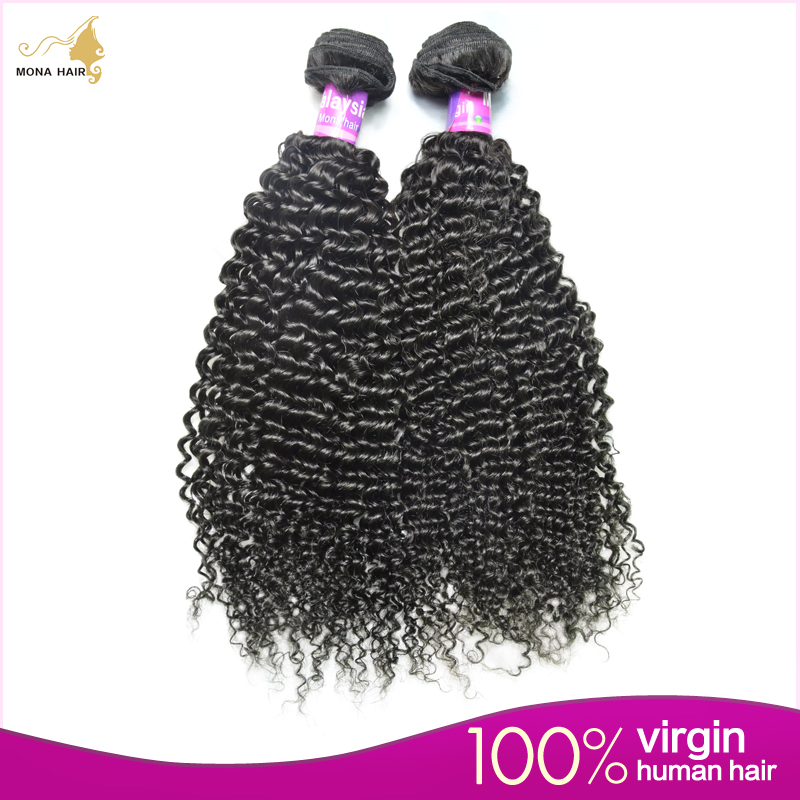 Mona Hair Products 7A Malaysian Kinky Curly Wave 1pcs/lot 100% Raw Malaysian Virgin Hair Wholesale Free Samples Availabled<br><br>Aliexpress