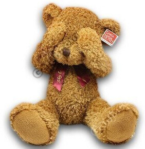 Plush toys / no listen no look no say / three do not shy Teddy Bear<br>