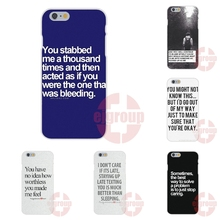 i don't care quotes tumblr Soft TPU Silicon Cell Phone Case Cover For Apple iPhone 4 4S 5 5C SE 6 6S 7 7S Plus 4.7 5.5