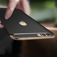 luxury phone case for huawei p8 lite 2017 case hard plastic full body Protective shell for huawei p9 lite p10 lite phone cover