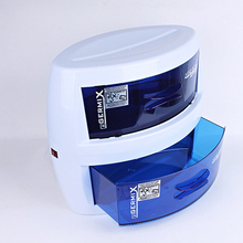 Double Layers Sterilizer UV Tools Sterilizer Nail  Disinfection  Nail Art Tool Box Sterilizing Salon Tools
