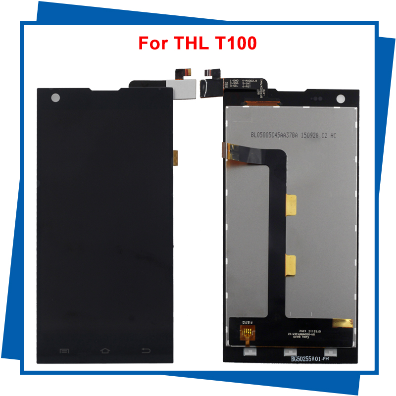 For THL T100 T100S LCD Display + Touch Screen Digitizer assembly FHD 100% warranty by Free Shipping<br><br>Aliexpress