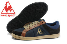 Free Shipping Le Coq Sportif Men's Running Shoes,New Styles Comfortable Le Coq Sportif Men Athletic Shoes Sneakers Navy/Brown 4