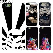 Star Wars Character Movie Storm Trooper   plastic Cover Case For Apple iphoneX  8  8Plus 4 4s 5 5s SE  5c 6 6S 6PLUS 7 7PLUS