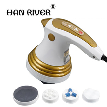 hot selling Power plate pushes fat thin leg massage stick Fitness massager cervical vertebra waist carry buttock home machine(China)