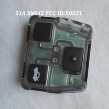 Special Offer For Lexus remote key 3 button 314.3MHZ FCC ID:50021