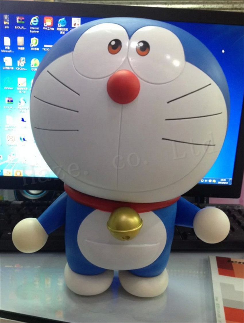 Animation Doraemon Memorial Jingle Cat Model Ornaments Figure<br>