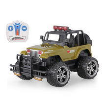 HUI NA TOYS 1359-7 Snow Leopard 2.4G 1/20 Remote Control Off-road Cross-country Car Buggy w/ Music and LED Light