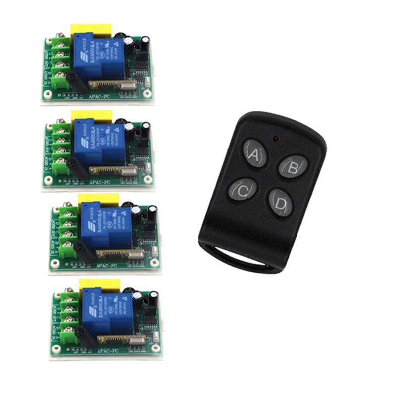 220V 30A Wireless Switch Remote Control System,3000W High power lamps remote control,200M control remote 4361<br>