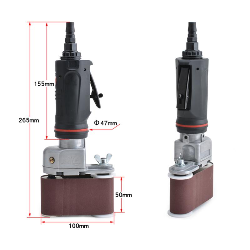 pneumatic air belt sander5