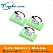 3PCS/lot 2*AA Ni-MH 2.4V 1400mAh Rechargeable Cordless Home Phone Battery For Uniden BT-1007 BT1015 free shipping