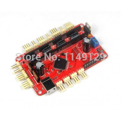 High Quality!  New Arrival ! Teensylu v0.8, Hi3D RepRap Prusa Mendel printer driver board for 3D printer<br><br>Aliexpress