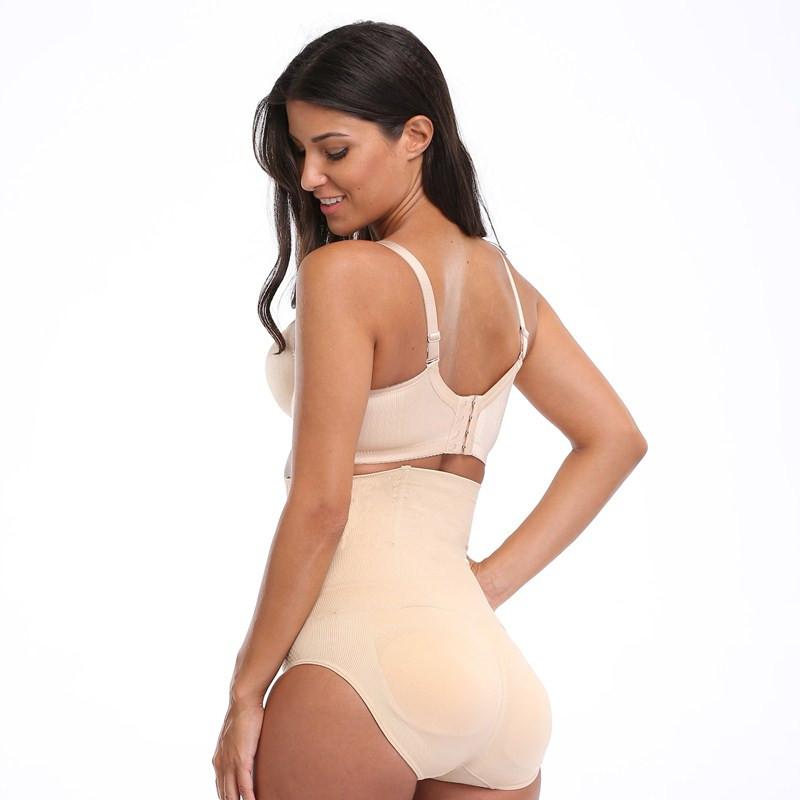 NINGMI Women Paded Hip Enhancer Butt Lifter Waist Trainer Shapewear Wedding Body Modeling Tummy Control Panties Slimming Shaper 10