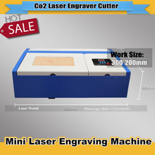 Co2 Laser Machine with USB Sport 110/220V  300*200mm Desktop CO2 Laser Engraver Engraving Cutting Machine 3020 Laser HighQuality