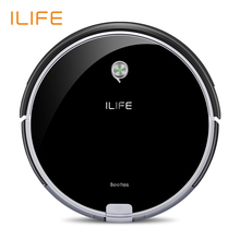 ILIFE A6 Robotic Vacuum Cleaner with Piano Black(China)