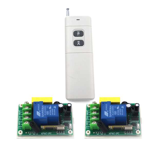 RF controller electrical curtain motor wireless remote control switch receiver AC 220V 30A multifunction SKU: 5320<br><br>Aliexpress