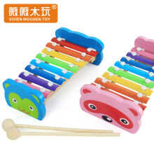 8 Scales xylophone baby piano music toys for babies percussion instruments wooden educational toys for kids