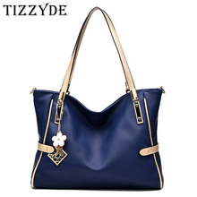 TIZZYDE Women High Capacity Handbag Sequined Messenger Bag Queen Temperament Shoulder Bag Simple Female Brand Designer ZHP20(China)