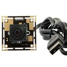 ELP OEM 170 degree Fisheye Lens Wide Angle Mini Cmos OV5640 5mp Autofocus USB Camera Module for Android ,Linux,Windows
