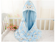 New Hot 100*100cm Flannel Baby Blanket  Cartoon Super Soft Blankets Child Sheet Thick Warm Winter