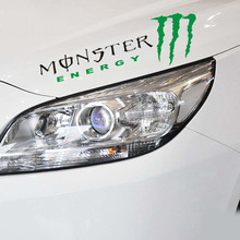 Monster Sports Mind Car Stickers Eyebrow Captivating Sports Styling Auto Racing Decor Graphic Decoration Die Cut Decals