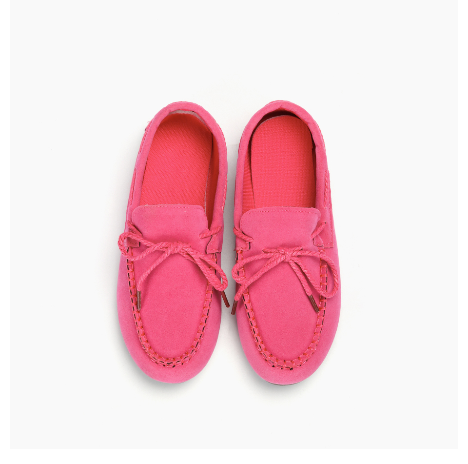 Moccasin womens four colors autumn soft brand top quality fashion suede casual loafers #WX810401 88 Online shopping Bangladesh