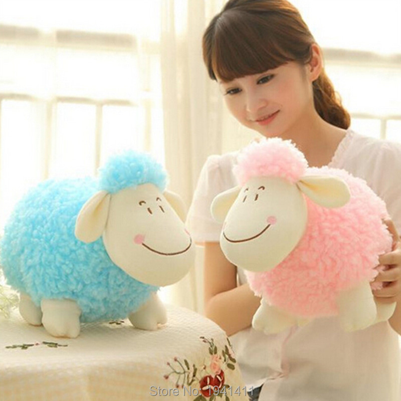 25CM Little Sheep Ram mascot doll lovers plush toys   wholesale holiday gift<br><br>Aliexpress
