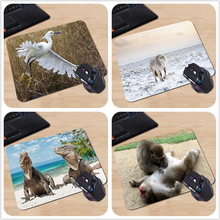 Babaite A Series of Animals Heron Horse Iguanas Macaques Dog Jinko Custom Made Silicon Mouse Pad Amazing Mice Mats for Computer