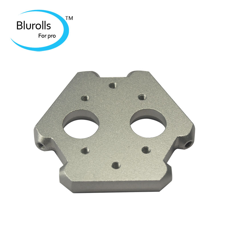 Reprap Delta kossel mini 3 D printer metal dual effector aluminum alloy 25 mm hole distance effector<br><br>Aliexpress