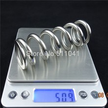 "Bike Rear Shock Titanium Spring ,  Grade 5 Titanium Spring 550lbx3.0""x165mm with 36 mm inner diameter, Paypal is available"