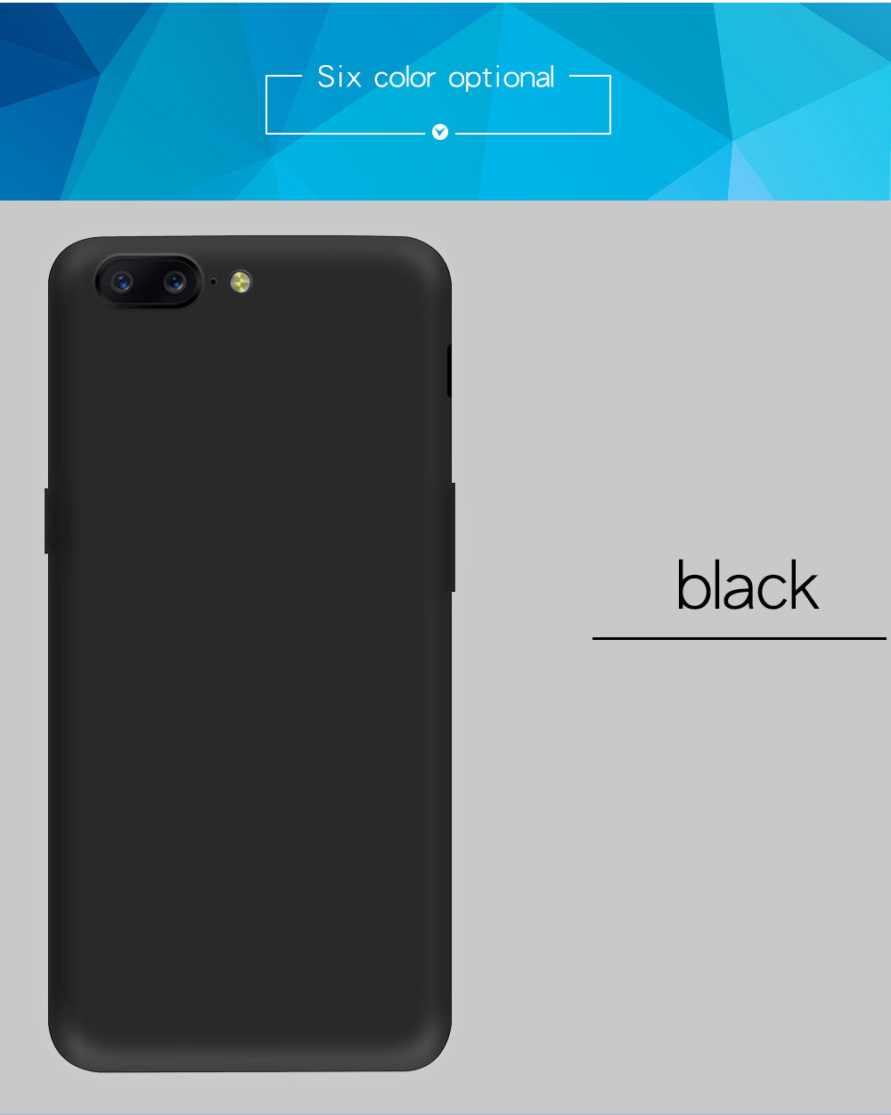 KEYSION Case for Oneplus 5 Luxury protective phone case Ultra-thin matte Hard PC back cover for Oneplus 5 A5000 5.5 inch 5