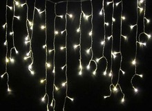 3.5 M 100 LEDs Warm White Holiday CHRISTMAS WEDDING PARTY FAIRY Curtain Light LED STRING Strip ice bar lamp Garlands
