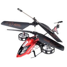 X12 4CH RC Helicopter with Gyro Infrared Metal Radio Remote Control Electronic Toy Plane Model RTF Kids Fun Gift