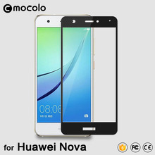 100% Original Mocolo Full Cover Silk Printing Tempered Glass Screen Protector for Huawei  Nova Glass Film in stock