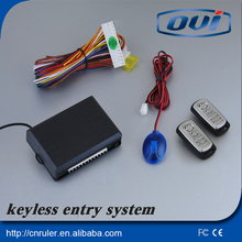 Easy Installation Keyless Entry System Can Car Finding And Window Rising Output Keyless Entry 12V(China)