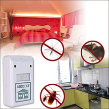 Free Shipping 100pcs/lot Electronic Riddex Pest Control Pest Repelling Aid Pest Killer As Seen On TV 110V/220V(China)