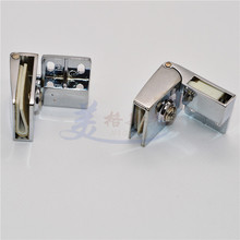Zinc alloy hinge up/down glass cabinet doors opening free glass display cabinet door hinge  Free glass hinge openings