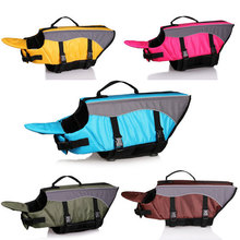 Pets Products Dog Life Jacket Life Vest Outward Hound Saver Pet Dogs Swimming Preserver Summer Swimsuit Clothes Saver Pet Dog(China)