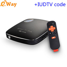 CSA96 1 year IPTV BOX+Arabic French Sweden Netherlands Italy european ip tv code 4G 32G USB WIFI Android 6.0 TV Box Media Player(China)