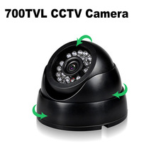 700TVL CCTV Camera Dome 24PCS IR LEDs Night Vision Security Camera Color IR Indoor Video Surveillance Camera