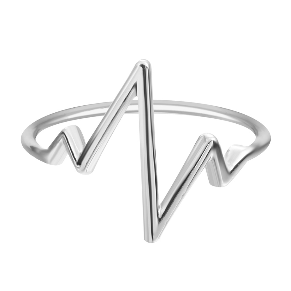 QIAMNI-Jewelry-Fashion-Women-Silver-Lifeline-Pulse-Heartbeat-Band-Ring-vintage-engagement-rings-for-girl