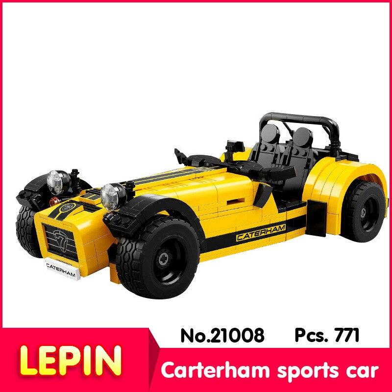 LEPIN 21008 771Pcs Technic Series Carterham sports car 620R Model Building Blocks Bricks 2130 Childrens toys compatible Legoe<br><br>Aliexpress