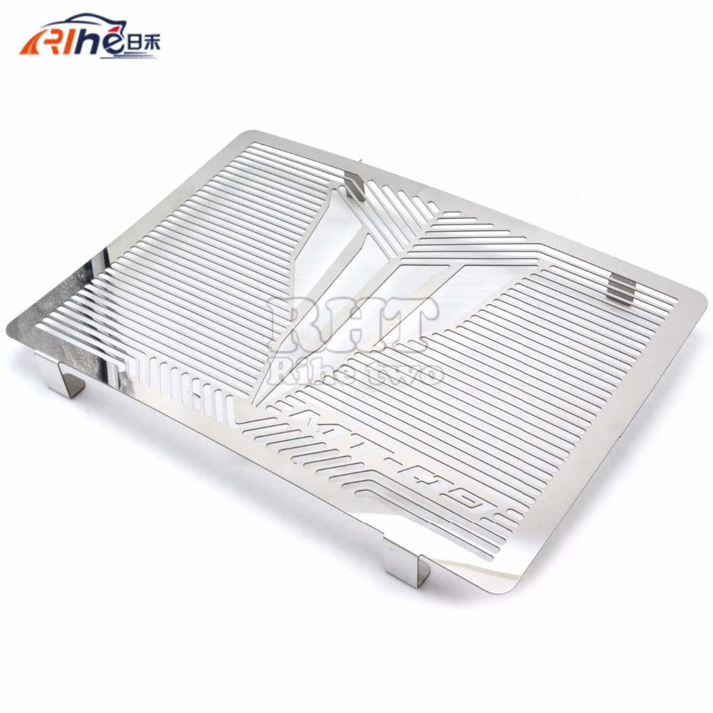 For YAMAHA MT-09  MT09 2014 2015 2017 Motorcycle Accessories Radiator Protection Cover Guard Grille Grid Protection<br><br>Aliexpress